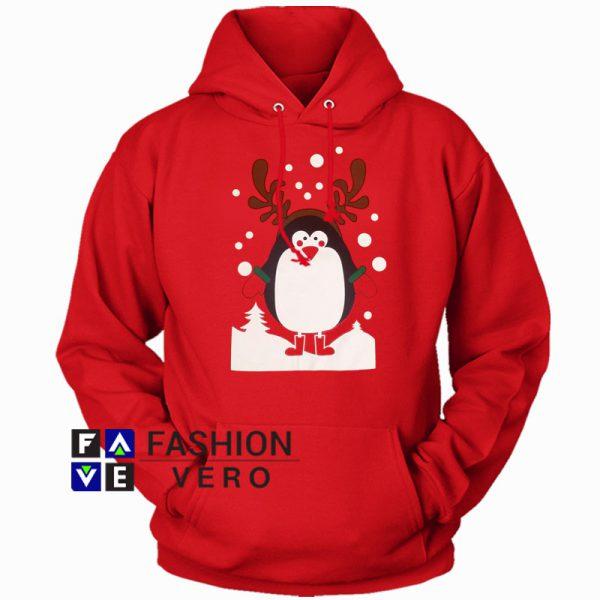 Penguin Christmas Hoodie Unisex Adult Clothing