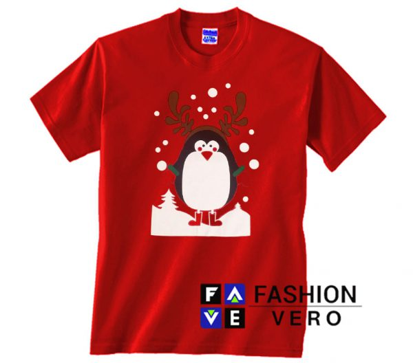 Penguin Christmas Unisex adult T shirt