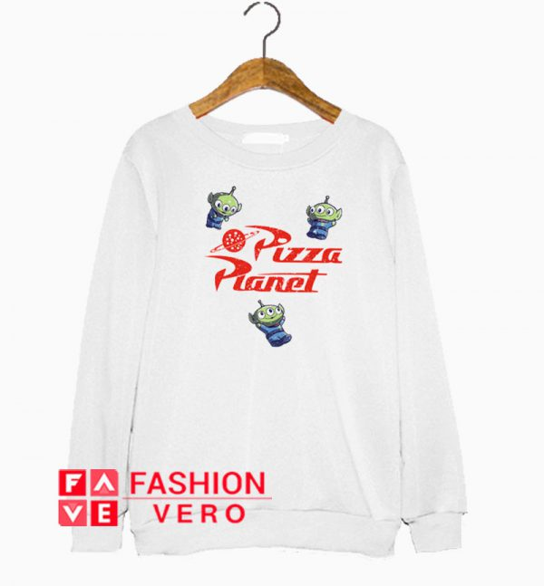 Pizza Planet Aliens Sweatshirt