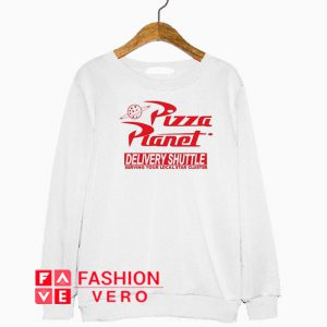Pizza Planet Delivery Shuttle Sweatshirt
