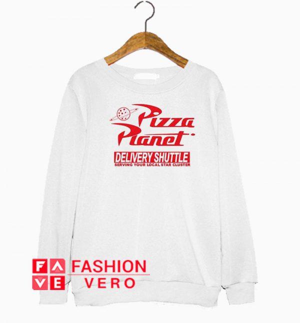 Pizza Planet Delivery Shuttle Sweatshirt