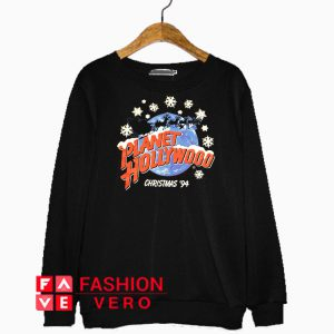 Planet Hollywood Christmas 1994 Sweatshirt