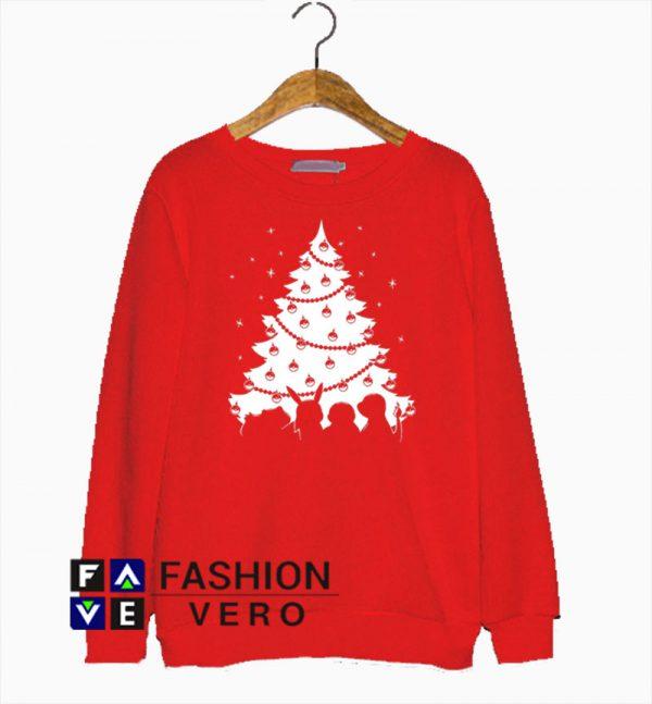 Pokemon Christmas Tree Sweatshirt