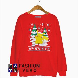Pokemon Pikachu Christmas Sweatshirt