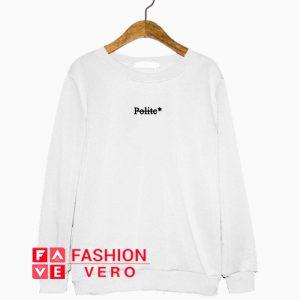 Polite Logo Sweatshirt