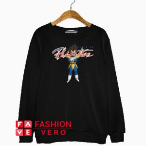 Primitive Dragon Ball Z Nuevo Vegeta Sweatshirt
