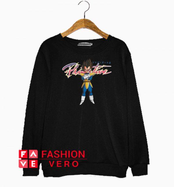 Primitive Dragon Ball Z Nuevo Vegeta Sweatshirt