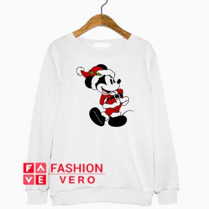 Santa Mickey Mouse Christmas Sweatshirt