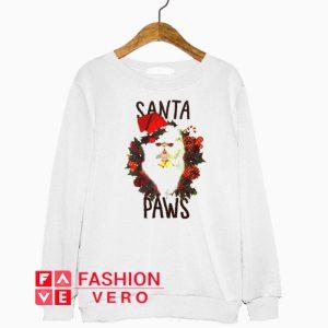 Santa Paws Cat Sweatshirt