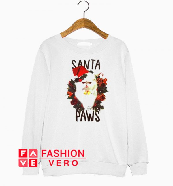 Santa Paws Cat Sweatshirt