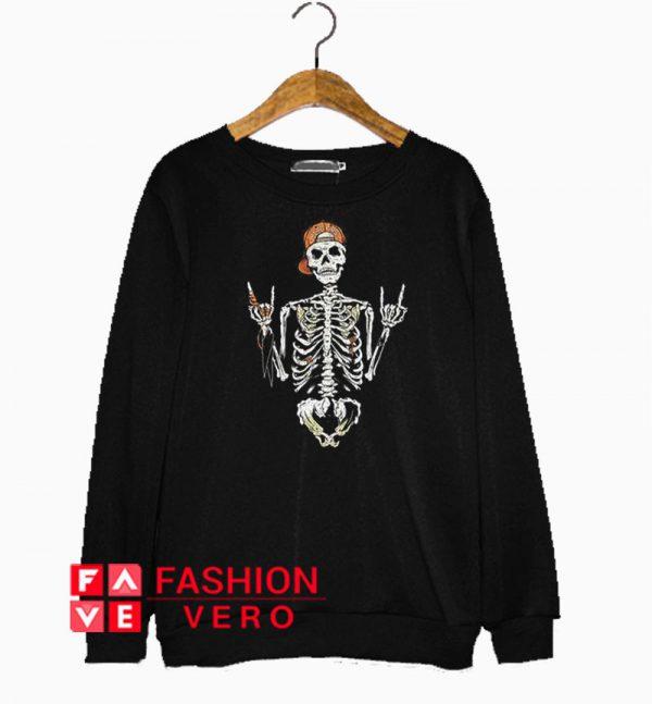 Skull Punk Sweatshirt