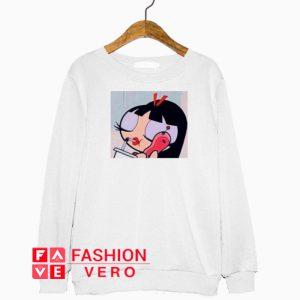 Teen Blossom Powerpuff Girls Sweatshirt