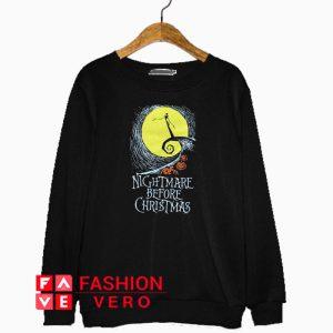 The Nightmare Before Christmas Pumpkin Sweatshirt