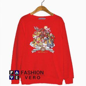 Winnie The Pooh Disney Christmas Sweatshirt
