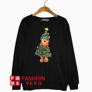 Winnie the Pooh Christmas Tree Sweatshirt
