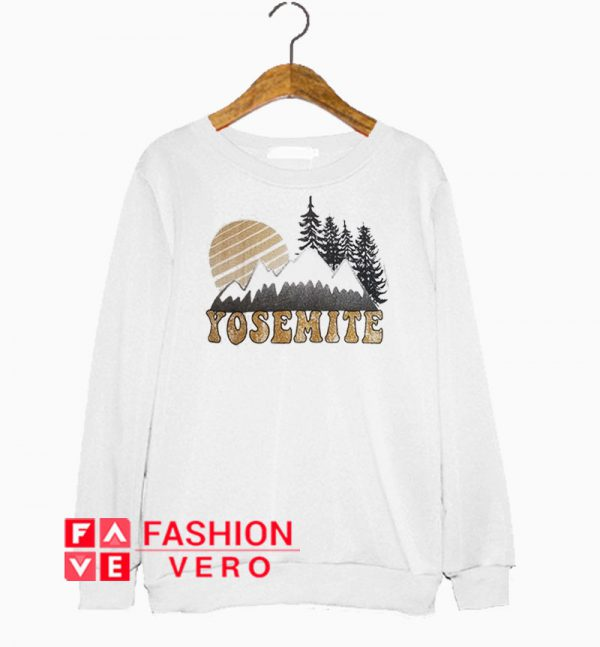 Yosemite Mountain Sweatshirt