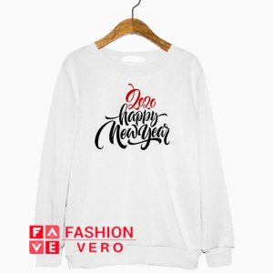 2020 Happy New Year Letter Sweatshirt