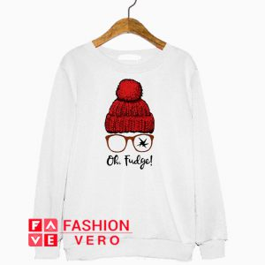 A Christmas Story Ralphie Oh Fudge Sweatshirt