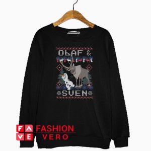 Olaf Sven Frozen Christmas Sweatshirt