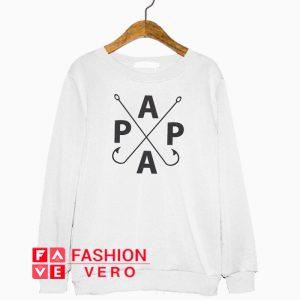 Papa Fish Hook Sweatshirt