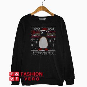 Pingu Noot Noot fucking Christmas Sweatshirt