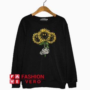 Smiley Sunflower Sweatshirt