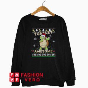 Turtley Awesome Christmas Sweatshirt