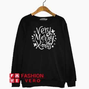 Very Merry X-mas Sweatshirt