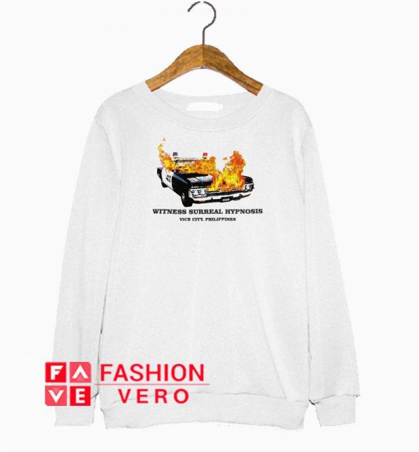 Witness Surreal Hypnosis Philippines Sweatshirt
