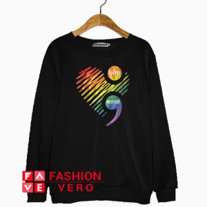 You Matter Rainbow Heart Sweatshirt
