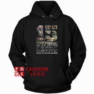 15 years of Prison Break Hoodie - Unisex Adult Clothing