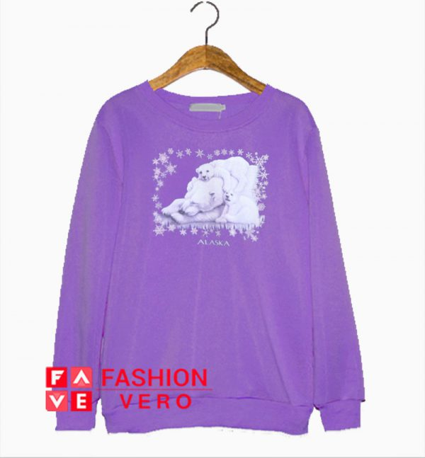 Alaska Polar Bear Sweatshirt