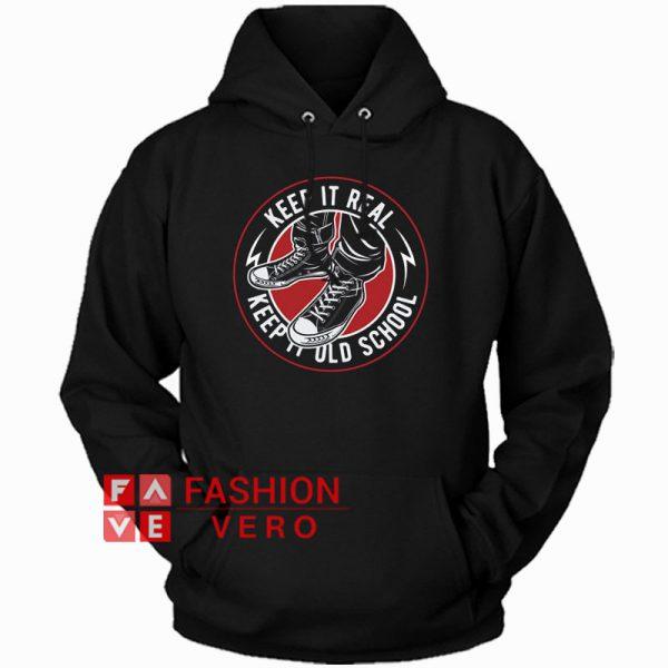 Keep It Old School Hoodie Unisex Adult Clothing