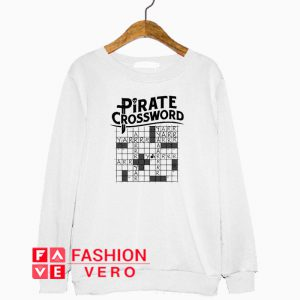 Pirate Crossword Sweatshirt