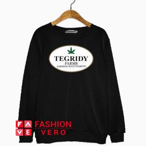 Tegridy Farms Farming With Tegredy Sweatshirt