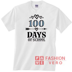 100 Days of School Arrow Logo Unisex adult T shirt