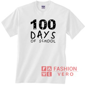 100 Days of School Logo Star Unisex adult T shirt