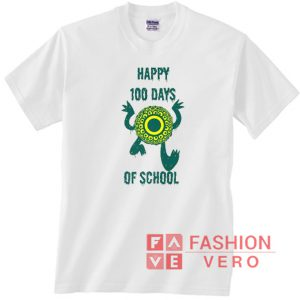 100 Days of School Monster Unisex adult T shirt