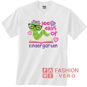 100 days of kindergarten Unisex adult T shirt