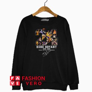 24 Kobe Bryant the memories signature Sweatshirt