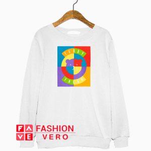 Teddy Fresh Circle Bear Sweatshirt