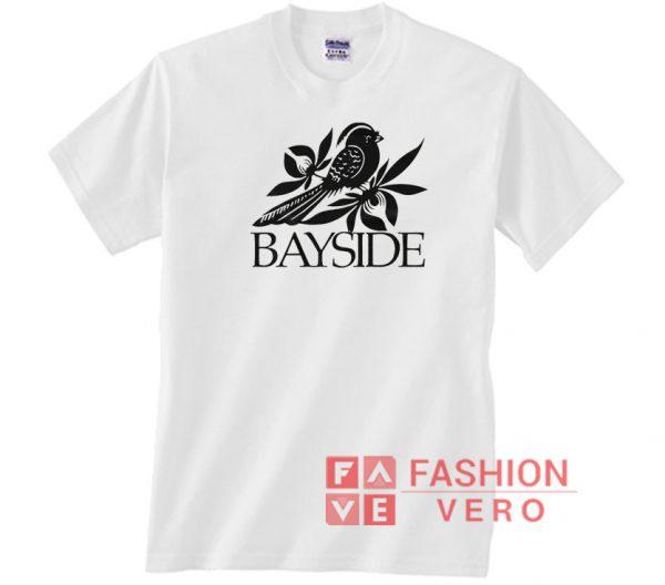 Bayside Bird Draw Unisex adult T shirt
