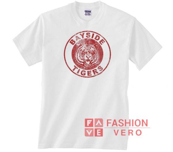 Bayside Tigers Circle Vintage Logo Unisex adult T shirt
