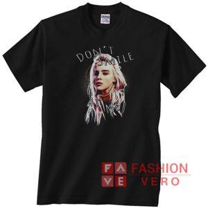 Billie Eilish Don't Smile At Me Unisex adult T shirt