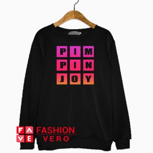 Pimpin Joy Gradient Colors Sweatshirt