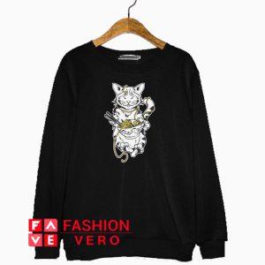 Ramen Noodle Cat Sweatshirt