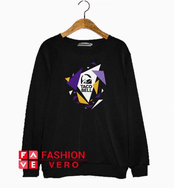 Taco Bell Geometric Logo Sweatshirt