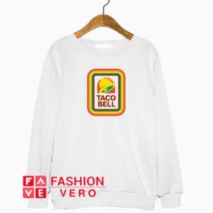 Taco Bell Rainbow Logo Sweatshirt