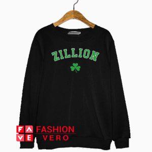 Zillion Beers Shamrock Sweatshirt