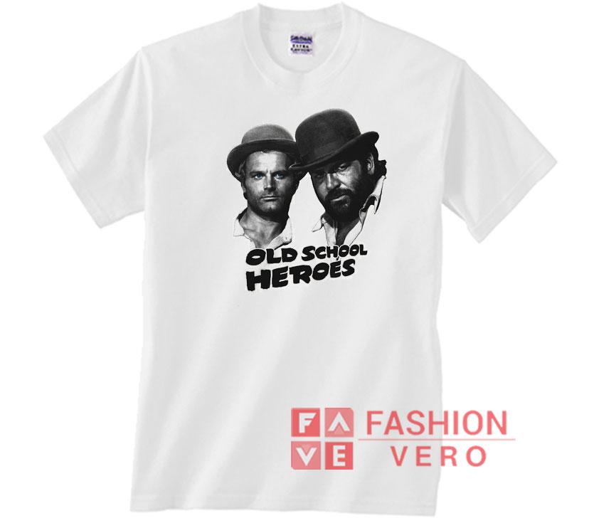 Bud Spencer Old School Heroes maglietta